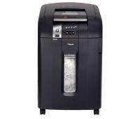 Niszczarka automatyczna REXEL SmartTech Auto+ 600X, konfetti, P-4, 600 kart., 80l, karty kredytowe/CD, czarna, Niszczarki, Urządzenia i maszyny biurowe