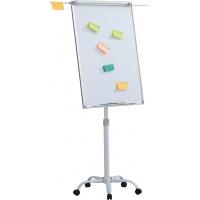 Flipchart mobilny OFFICE PRODUCTS, 70x100cm, tablica suchoś. -magn., aluminiowa rama, z wyciąganymi ramionami, Flipcharty, Prezentacja