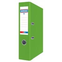 Segregator DONAU Life, neon, A4/75mm, zielony, Segregatory polipropylenowe, Archiwizacja dokumentów