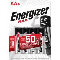 Bateria ENERGIZER Max, AA, LR6, 1,5V, 4szt., Baterie, Urządzenia i maszyny biurowe