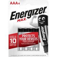 Bateria ENERGIZER Max, AAA, LR03, 1,5V, 4szt., Baterie, Urządzenia i maszyny biurowe
