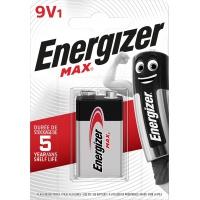 Bateria ENERGIZER Max, E, 6LR61, 9V, Baterie, Urządzenia i maszyny biurowe