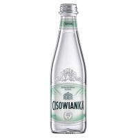 Woda CISOWIANKA Jubileuszowa, niegazowana, butelka szklana, 0,3l, Woda, Artykuły spożywcze