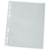 Koszulki na dokumenty Q-CONNECT, PP, A4, groszkowe, 120mikr., 100szt., w pudełku, Koszulki i obwoluty, Archiwizacja dokumentów