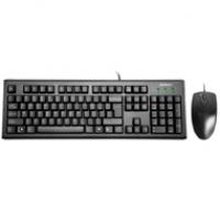 A4-Tech zestaw klawiatury KM-72620D + mysz KM-72620D   black USB, Myszki i klawiatury, Akcesoria komputerowe