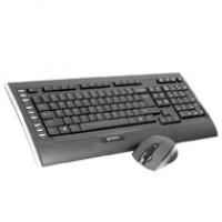 A4-Tech zestaw klawiatury V-TRACK 2.4G 9300F + mysz   nano USB   bezprzewodowa, Myszki i klawiatury, Akcesoria komputerowe