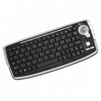 Art AK-66 klawiatura + Trackball | USB| black bezprzewodowa, Myszki i klawiatury, Akcesoria komputerowe