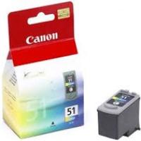 Tusz Canon CL51 do iP-2200/6210/6220,MP-150/170 | 21ml | CMY, Tusze, Materiały eksploatacyjne