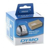 Dymo etykieta do drukarek LW 99014 biała, papierowa, 101mm x 54mm, Etykiety do drukarek, Materiały eksploatacyjne