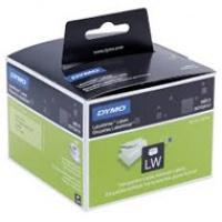 Dymo etykieta do drukarek LW 99013 przezroczysta, plastik 89mm x 36 mm, Etykiety do drukarek, Materiały eksploatacyjne