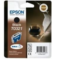 EOL Tusz Epson T0321 do Stylus C-70/80/82 | 33ml | black, Tusze, Materiały eksploatacyjne