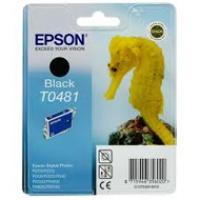 Tusz Epson T0481 do R-200/220/300/340, RX-500/600/640 | 13ml | black, Tusze, Materiały eksploatacyjne