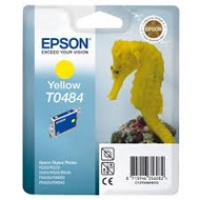 Tusz Epson T0484 do R-200/220/300/340, RX-500/600/640 | 13ml | yellow, Tusze, Materiały eksploatacyjne