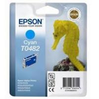 Tusz Epson T0482 do R-200/220/300/340, RX-500/600/640 | 13ml | cyan, Tusze, Materiały eksploatacyjne