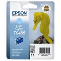Tusz Epson T0485 do R-200/220/300/340, RX-500/600/640 | 13ml | light cyan, Tusze, Materiały eksploatacyjne