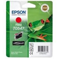 Tusz Epson T0547 do Stylus Photo R-800/1800 | 13ml | red, Tusze, Materiały eksploatacyjne