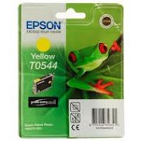 Tusz Epson T0544 do Stylus Photo R-800/1800 | 13ml | yellow, Tusze, Materiały eksploatacyjne