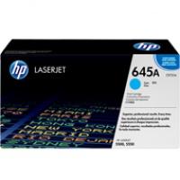 Toner HP 645A do Color LaserJet 5500/5550 | 12 000 str. | cyan, Tonery, Materiały eksploatacyjne