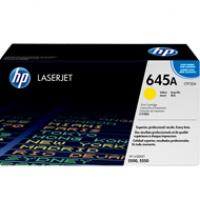 Toner HP 645A do Color LaserJet 5500/5550 | 12 000 str. | yellow, Tonery, Materiały eksploatacyjne