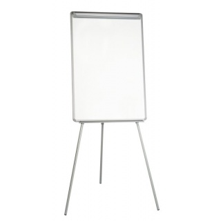 Flipchart na trójnogu BI-OFFICE, 70x102cm, tablica suchoś. -magn., plastikowa rama, Flipcharty, Prezentacja