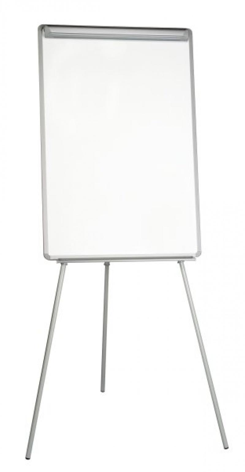 Flipchart Tripod Easel BI-OFFICE, 70x102cm, Magnetic Dry-wipe Board, plastic frame