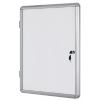 Dry-wipe Magnetic Display Case BI-OFFICE, 9xA4, 67x93cm, white