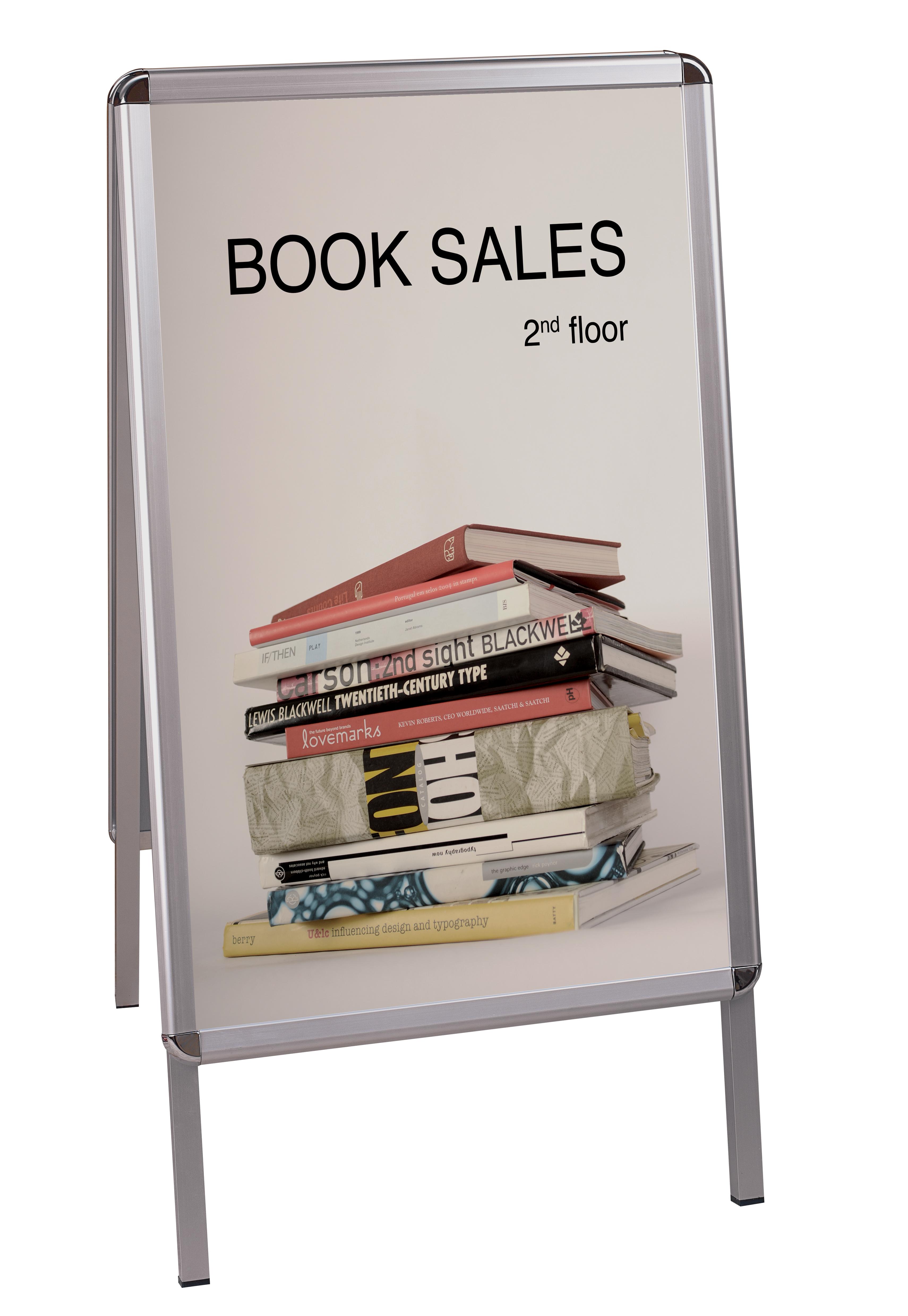 Free standing display board bi office 59 4x84 1cm for Office display board