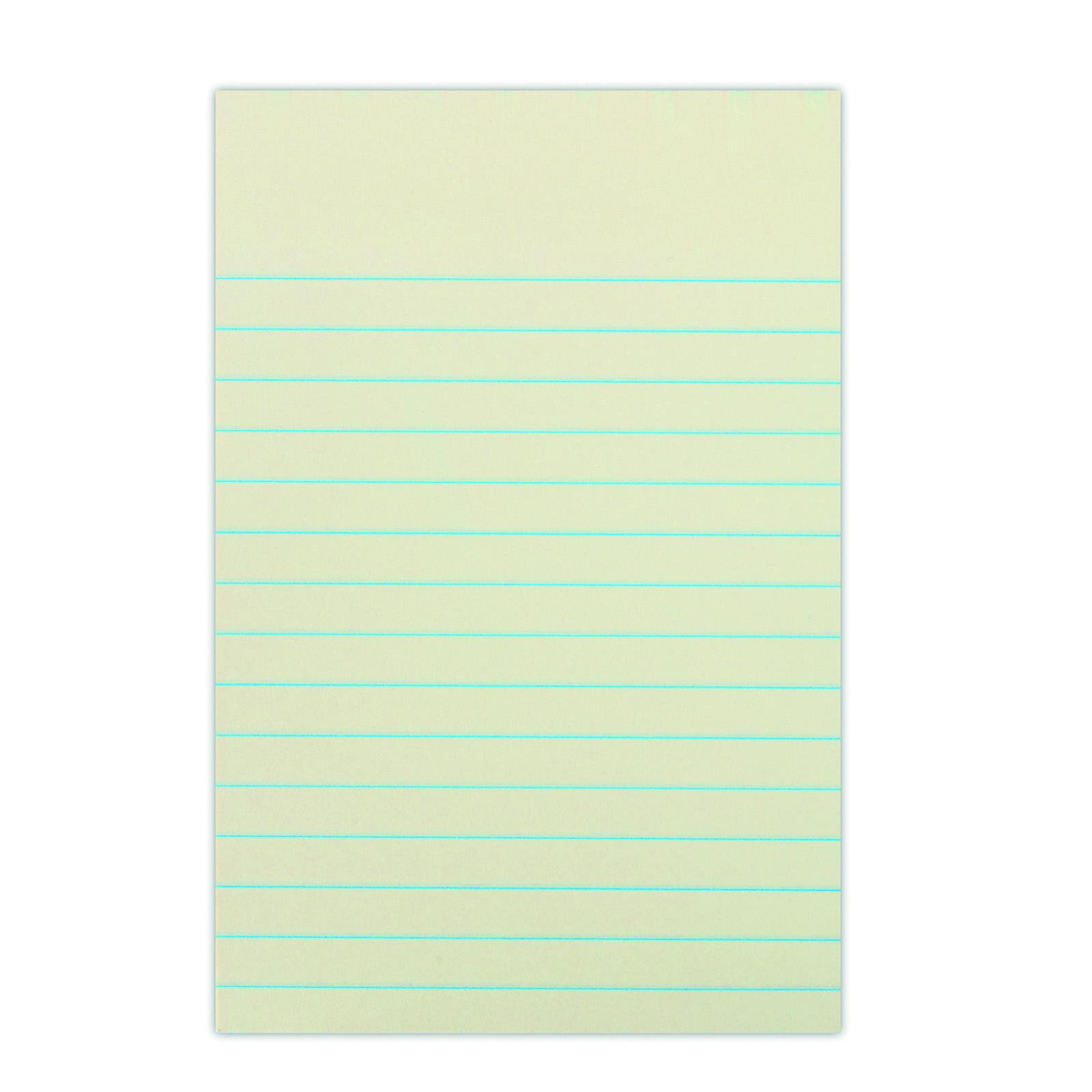 Self-adhesive Pad DONAU 101x150mm, ruled, 1x100 sheets, 75gsm ...