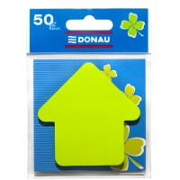 Self-adhesive Pad DONAU, 1x50 sheets, arrow-shaped, pink