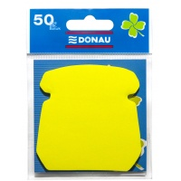 Self-adhesive Pad DONAU, 1x50 sheets, telephone, yellow