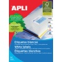 Universal Labels APLI 64. 6x33. 8mm, rectangle, white, 100 sheets