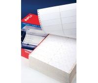 Etykiety do drukarek igłowych APLI, 88,9x36mm, 2-kolumny, prostokątne, białe