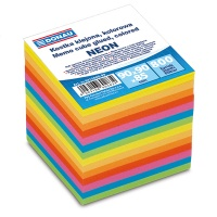 Note Cube Refill Pads DONAU 90x90x90mm, ca 700sheets, assorted colours