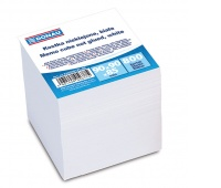 Note Cube Refill Cards DONAU, 90x90x90mm, ca 700cards, white