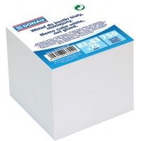 Note Cube Refill Cards 83x83x75mm white