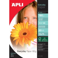 Photographic Paper Everyday Photo Paper 10x15cm 180gsm glossy 20 sheets