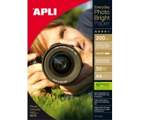 Photographic Paper APLI Everyday Photo Paper, A4, 200gsm, glossy, 50 sheets