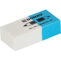 Multipurpose Eraser DONAU, 41x18x11mm, blue-white