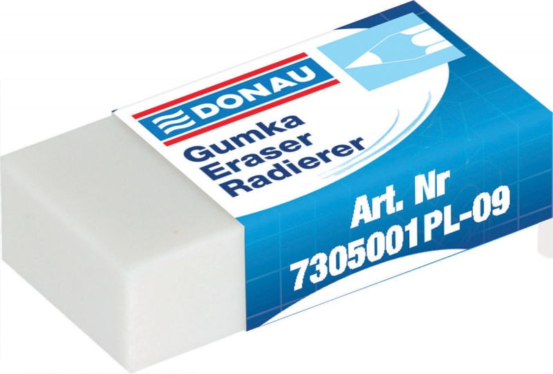 Universal Pencil Eraser 41x21x11mm white