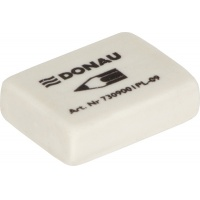 Universal Pencil Eraser DONAU, 41x21x11mm, white