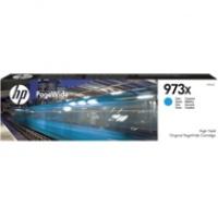 Tusz HP 973X do PageWide Pro 452DW/DWT, 477DW/DWT | 7 000 str. | cyan, Tusze, Materiały eksploatacyjne