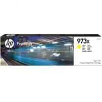 Tusz HP 973X do PageWide Pro 452DW/DWT, 477DW/DWT | 7 000 str. | yellow, Tusze, Materiały eksploatacyjne