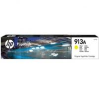 Tusz HP 913A do PageWide Pro 452DW/DWT, 477DW/DWT | 3 000 str. | yellow, Tusze, Materiały eksploatacyjne