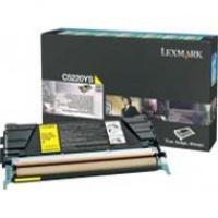 Kaseta z tonerem Lexmark do C-522/524/530/532 | zwrotny | 3 000 str. | yellow, Tonery, Materiały eksploatacyjne