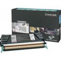 Kaseta z tonerem Lexmark do C-522/524/530/532 | zwrotny | 4 000 str. | black, Tonery, Materiały eksploatacyjne