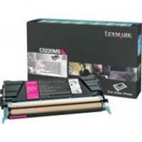 Kaseta z tonerem Lexmark do C-522/524/530/532 | zwrotny | 3 000 str. | magenta, Tonery, Materiały eksploatacyjne