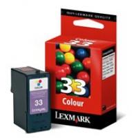 Tusz Lexmark 33 do X-5250/3330/7170/8350, Z-815   CMY eol, Tusze, Materiały eksploatacyjne