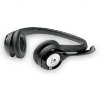 Słuchawki Logitech Headset H390 BLACK USB z mikrofonem, Głośniki i słuchawki, Akcesoria komputerowe