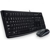 Zestaw Logitech klawiatura + mysz MK120 optyczna | USB | przewodowa, Myszki i klawiatury, Akcesoria komputerowe