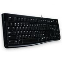Logitech klawiatura Deluxe K-120 | przewodowa | USB | black, Myszki i klawiatury, Akcesoria komputerowe